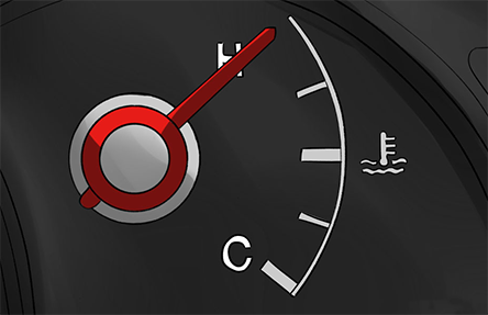 Signs your car's engine is overheating